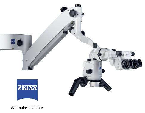 Kanalų gydymo mikroskopas